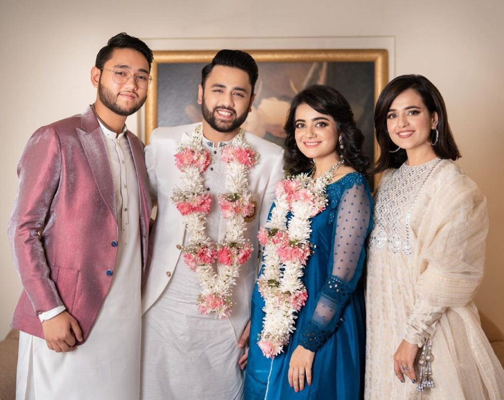 Enchanting Pictures Of Sumbul Iqbal From Her Sisters Engagement