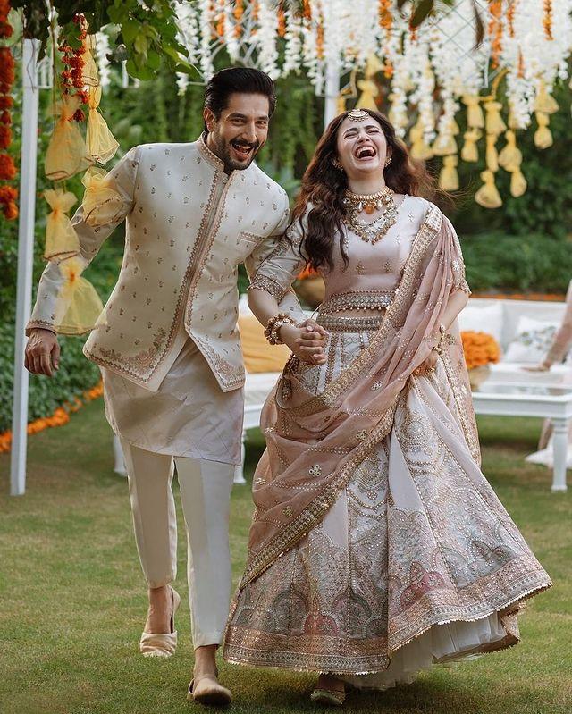 Sana Javed And Bilal Ashraf
