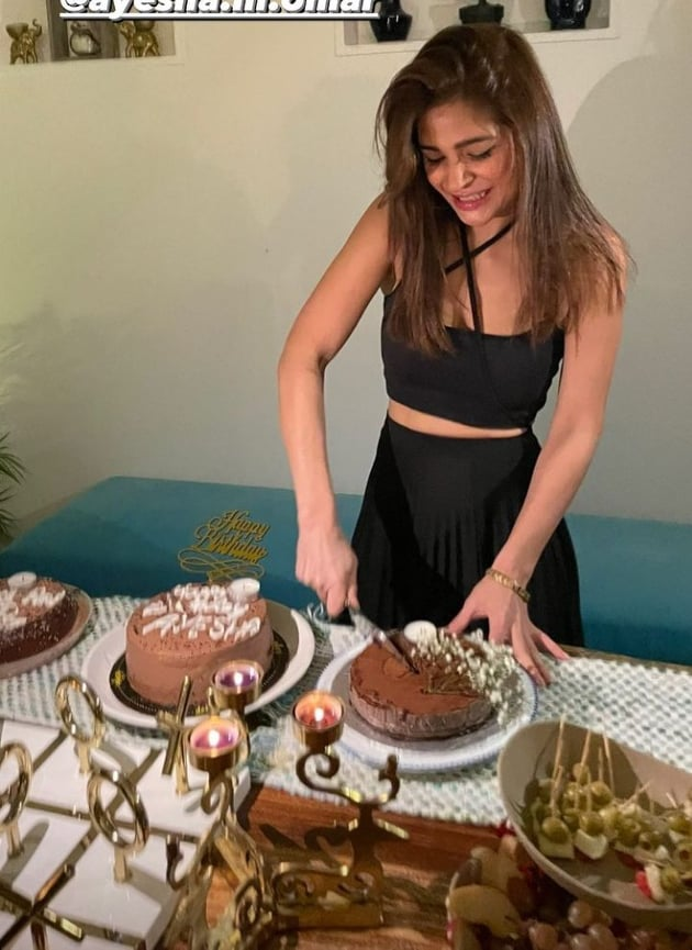 Ayesha Omar's Birthday Clip Invites Public Backlash