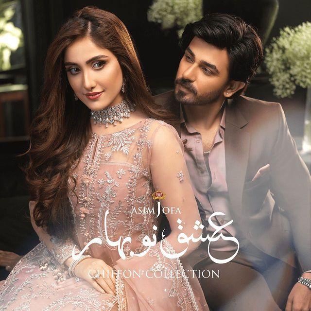 Ishq-E-Naubahar Chiffon Collection By Asim Jofa