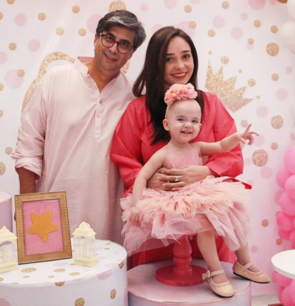 Adorable Pictures From Juggun Kazim Daughters First Birthday