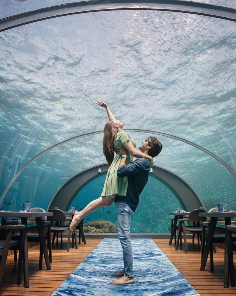 Dazzling Pictures Of Minal And Ahsan From Dubai