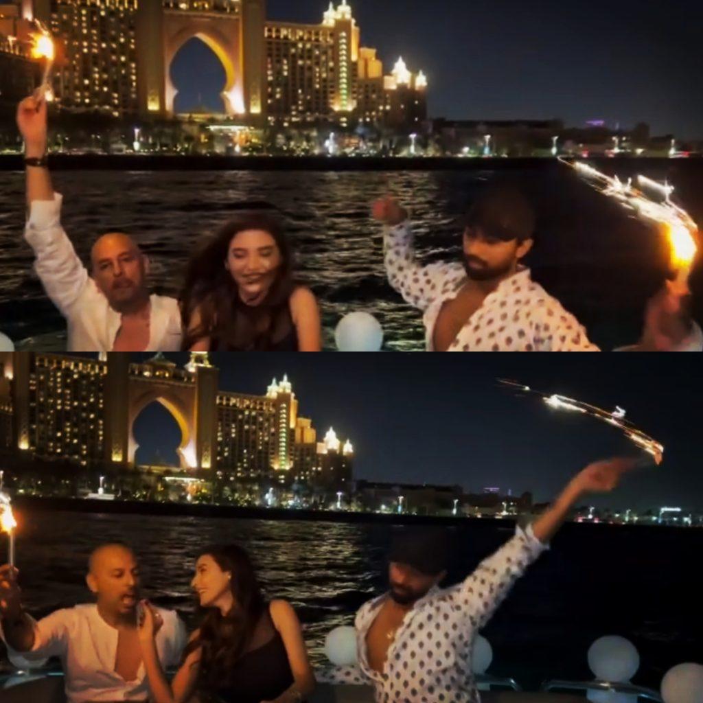 Sadia Khan Celebrates Birthday With Besties In UAE