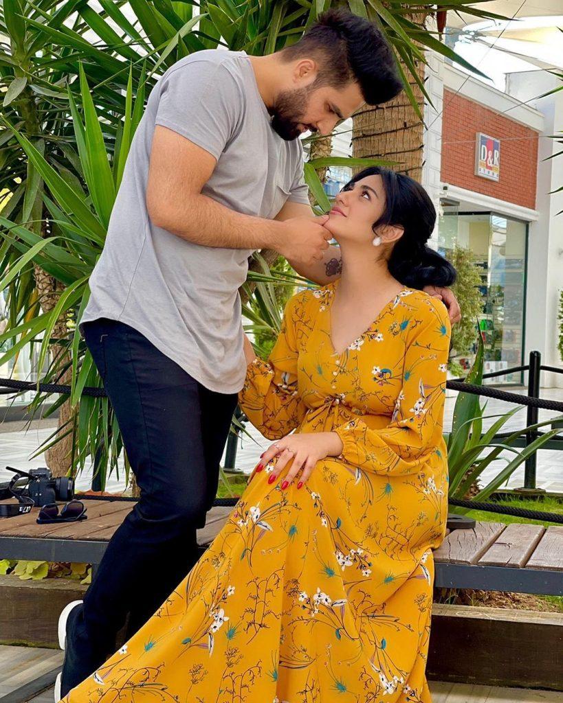 Noor Zafar Khan And Nida Yasir With Alyana Falak - Adorable Pictures