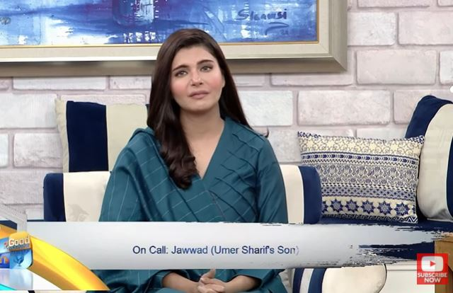 Umer Sharif's Son Shares How He Was As A Father