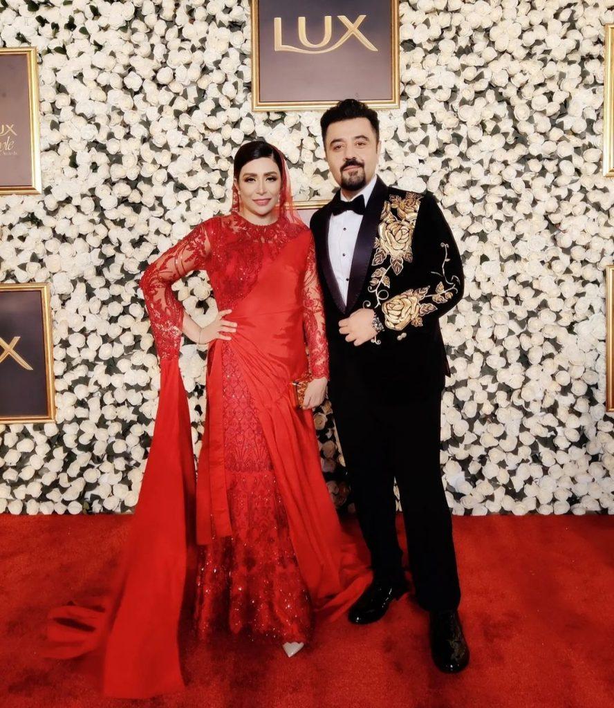 Ahmed Ali Butt And Fatima Khan Beautiful Portraits From LSA'21