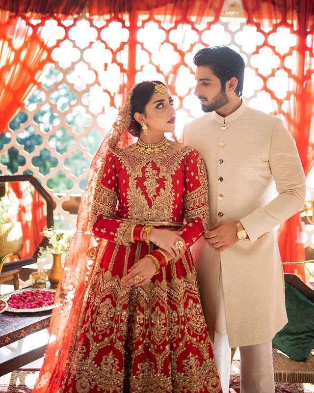 Alizeh Shah And Muneeb Butt Pair-Up For A Bridal Shoot