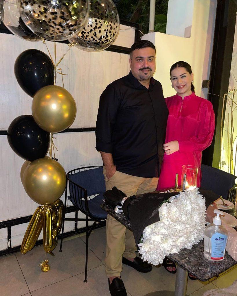 Ghana Ali Gives a Peek Into Husband's Birthday Bash