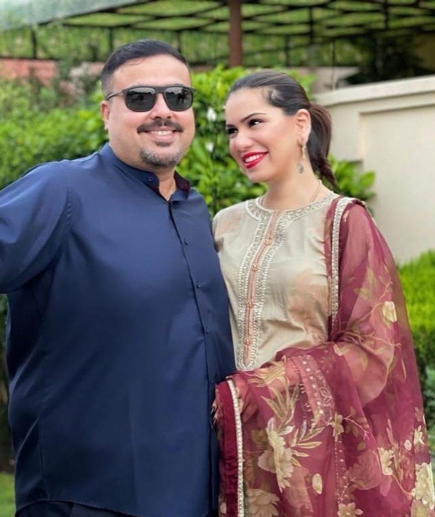 Ghana Ali's Loved Up Birthday Wish For Husband Umair Gulzar