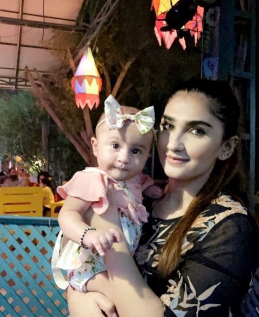 Lovable Latest Clicks Of Hassan Ali's Daughter Helena Hassan