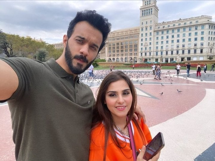 Komal Baig Spending Quality Time With Husband In Spain