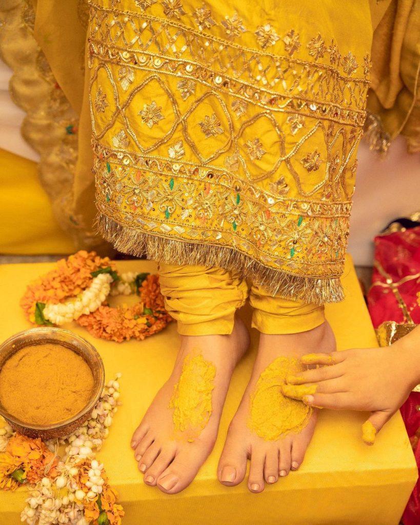 Maya Ali Stuns As a Vibrant Mayon Bride