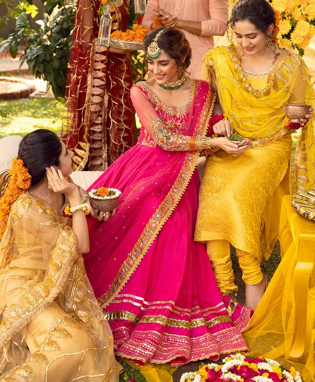 Maya Ali Mesmerizes Fans In Dreamy Bridal Attires