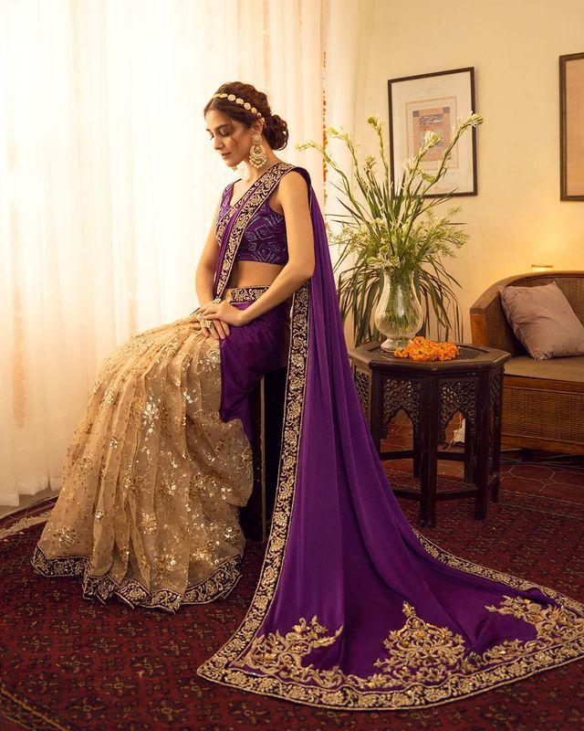"Maya Ali Looks Effortlessly Gorgeous In ""Babul"" By Maya Pret-A-Porter"